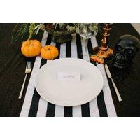 Halloween Stripe Table Runner