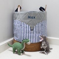 Personalised Fox Toy Bag/Laundry Bag