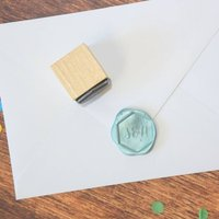 Personalised Hexagonal Monogram Wax Seal Stamp