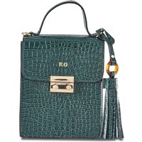 Personalised Croc Vertical Clutch Bag