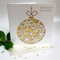 Christmas Card Thinking Of You