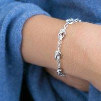 Friendship Knot Chain Bracelet