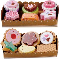 Wooden Cakes And Biscuits Play Selection