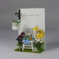 Luxury Hanging Basket Garden Card