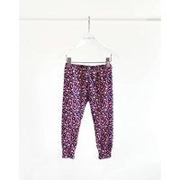 Bright Pink Leopard Dots Leggings