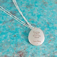 Personalised Mother Daughter Long Necklace