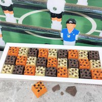 Mosaic Chocolate Gift Box For Football Sport Lovers