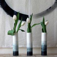 Handcrafted Porcelain Pebble Vase