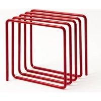 Magazine Rack, Red