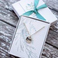Silver Run Necklace, Silver