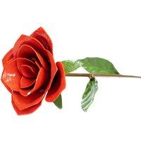 Red Metal Rose