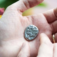 'To Bring You Good Luck' Four Leaf Clover Token