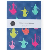 A5 Teapots Collection Lined Notebook