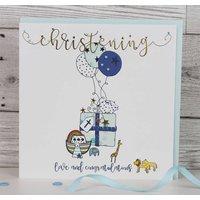 Luxury Christening Card Boy/ Girl