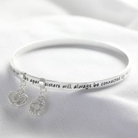 'Sisters' Meaningful Word Bangle