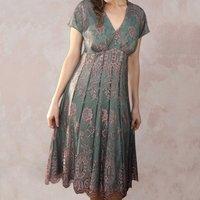 Empire Line Vintage Style Lace Dress