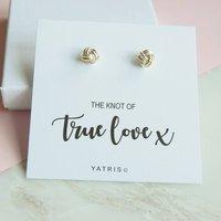 Knot Of True Love Earrings