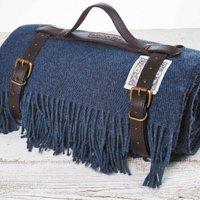 Luxury That Blue Picnic Blanket, Blue