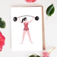Strongwoman Card