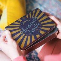 Personalised Homemade Baking Storage Tin