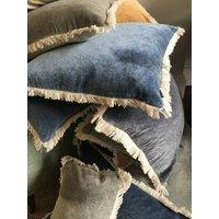 Maitri Stonewashed Velvet Cushion 60x60