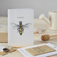 'Queen Bee' Seed Card