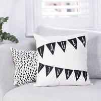 Personalised Nursery Bunting Cushion