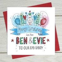 Daddy Christmas Card