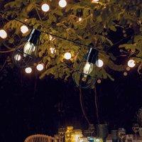 LED Solar Cage Light Chain