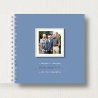 Personalised Grandparents Memory Book