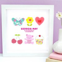 Personalised Baby Girl Cute Mix