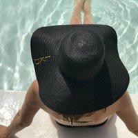 Personalised Monogram Summer Straw Hat
