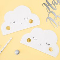 Cloud Shaped Paper Party Napkins