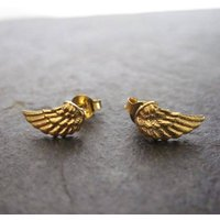 925 Silver Small Wing Studs, Silver