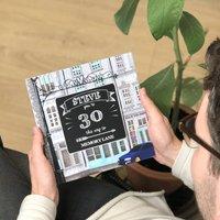 Personalised 30th Birthday Book 'Memory Lane'