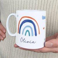 Personalised 'Rainbow' Mug