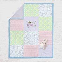 Personalised Baby Blanket Farm Design