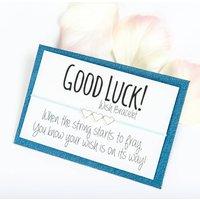 Good Luck Handmade Wish Bracelet