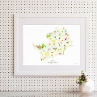 Personalised Hertfordshire Map: Add Favourite Places