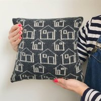 Knitted New Home Cushion