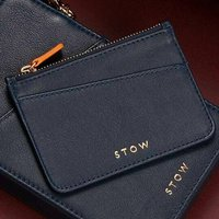 Personalised Ladies Luxury Leather Coin And Card Purse