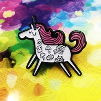 Tattoonicorn Enamel Pin