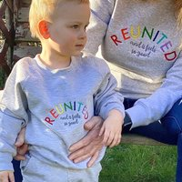 Baby And Child Rainbow Reunited Jumper