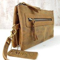 Personalised Wristlet Clutch Bag