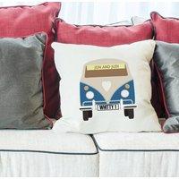 Personalised Camper Van Cushion Cover
