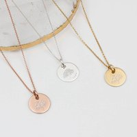 Personalised Family Tree Of Life Necklace