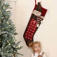 Countdown To Christmas Advent Calendar Stocking