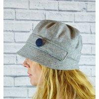 Yorkshire Twill Tweed Cloche Hat