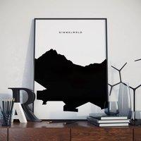 Gimmelwald Switzerland Poster