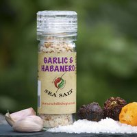 Garlic And Habanero Sea Salt
